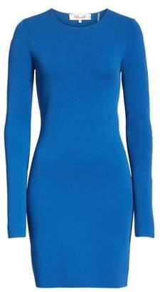 Diane von Furstenberg Long Sleeve Minidress