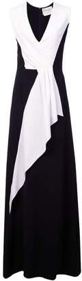 Carolina Herrera paneled gown