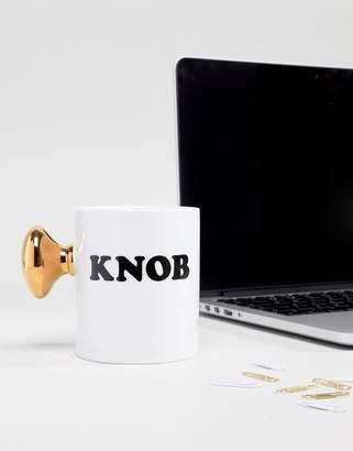 Thumbs Up Knob Mug