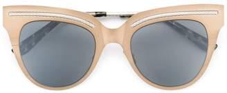 Bottega Veneta cat eye frame sunglasses