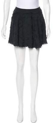 Twenty8Twelve Scalloped Mini Skirt