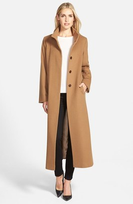 Women's Fleurette Long Wool Coat $1,335 thestylecure.com