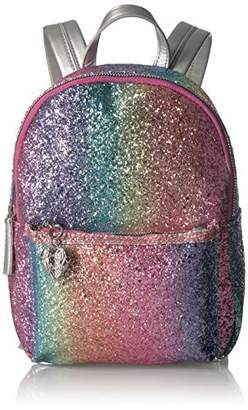 Betsey Johnson Rainbow Glitter Mini Backpack
