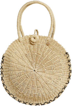 Seafolly NEW Round Beach Basket Natural