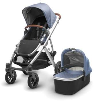 UPPAbaby Vista Vista Stroller with Leather Handles in Henry