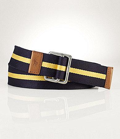 Polo Ralph Lauren Striped Web Belt