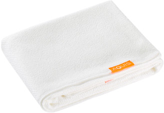 Aquis Long Hair Towel Lisse Luxe White