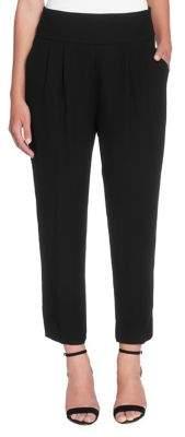 Catherine Malandrino Luca Tuxedo-Stripe Crop Pants