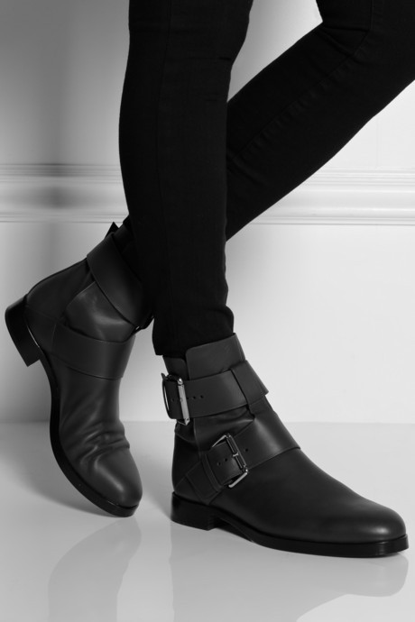Pierre Hardy Buckled leather ankle boots