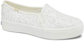 Keds Kate Spade New York Bridal x Triple Decker Glitter Sneakers