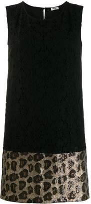 Liu Jo Black Shine short dress