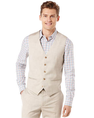 Perry Ellis Big and Tall Textured Vest