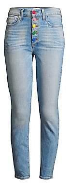 Alice + Olivia Jeans Jeans Women's Rainbow Button Jeans