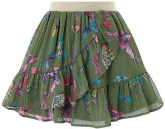 Monsoon Flutter Skirt