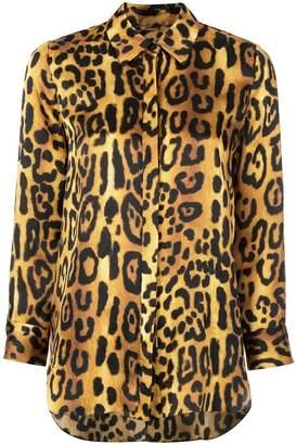 d2df057b321 ADAM by Adam Lippes leopard print shirt