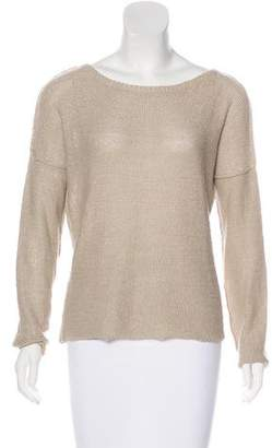 Brochu Walker Bateau Neck Knit Sweater