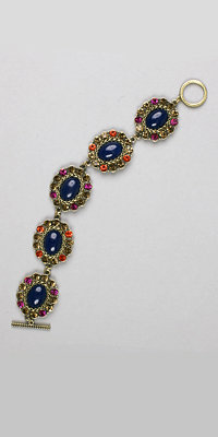 Stoned Cabochon Bracelets by Nicole Miller