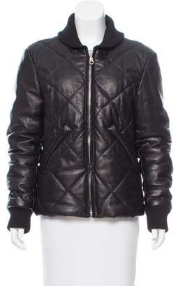 Kenzo Quilted Leather Jacket