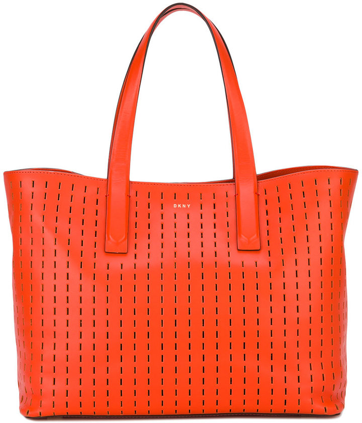 DKNYDKNY embroidered tote