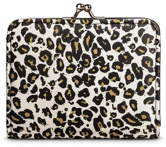 Mossimo Supply Co Women's Leopard Print Kiss Lock Clasp Faux Leather Wallet White - Mossimo Supply Co. $6.99 thestylecure.com