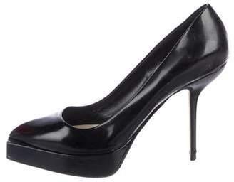 Christian Dior Platform Leather Pumps