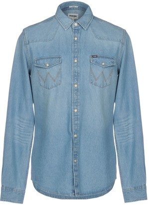 Wrangler Denim shirts - Item 42693022EX