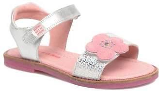 Agatha Ruiz De La Prada Kids's Miss Ponza 3 Strap Sandals in Silver