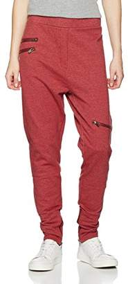 One Piece OnePiece Pant Out Sports Trousers, (Red Mel), W33/L30