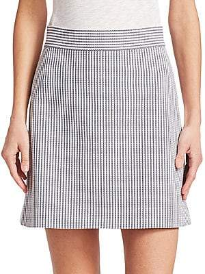 Theory Women's High Waist Mini Skirt