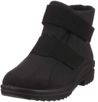 Florett Women's Lene Warm lined snow boots half length Black Size: