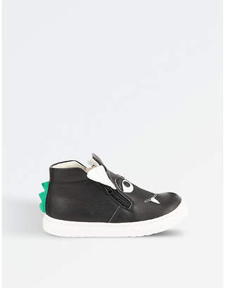 STEP2WO Grisu leather high top trainer 2-9 years