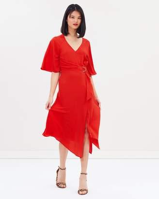Miss Selfridge D-Ring Midi Dress