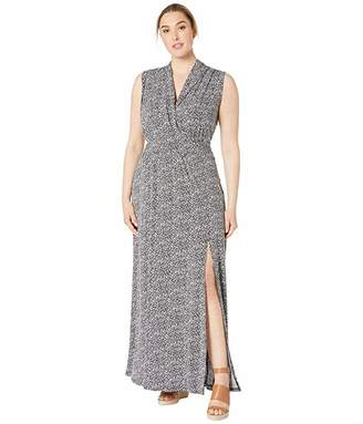 MICHAEL Michael Kors Size Springtime Slit Maxi Dress