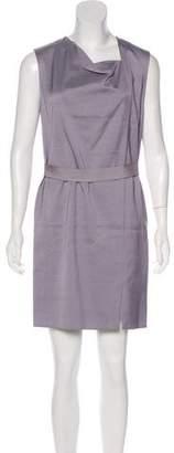 3.1 Phillip Lim Draped Sleeveless Mini Dress