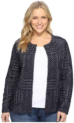 Lucky Brand Plus Size Jacquard Sweater Women's Sweater