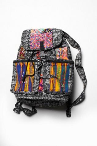 Free People Stela 9 Santiago Patchwork Backpack