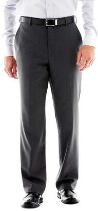 STAFFORD Stafford Travel Slim-Fit Flat Front Suit Pants