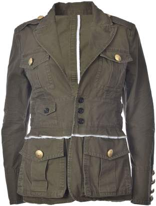 DSQUARED2 Fitted Military Jacket