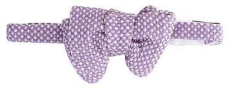 Tom Ford Silk Patterned Bow Tie
