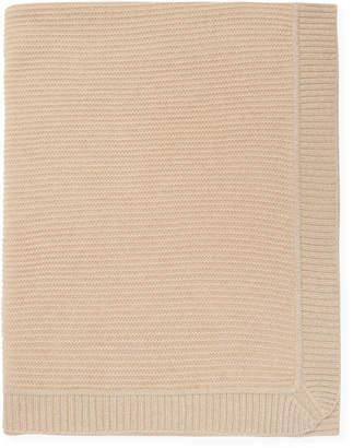 Sofia Cashmere Texture Cashmere Throw With Lurex Border