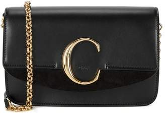 Chloé C Mini Leather Shoulder Bag