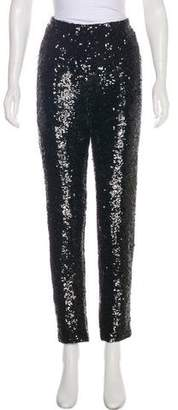Lafayette 148 High-Rise Sequin Pants