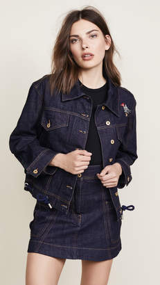 Carven Oversize Denim Jacket