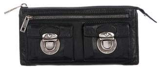 Marc Jacobs Leather Zip Wallet
