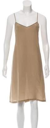 Dries Van Noten Sleeveless Silk Dress