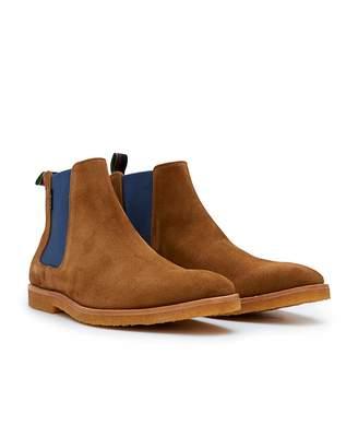 d6425ff43 Paul Smith Andy Crepe Sole Chelsea Boots Colour  HAZELNUT