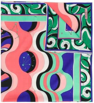 Emilio Pucci Copacabana Print Scarf
