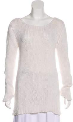 The Row Long Sleeve Knit Sweater
