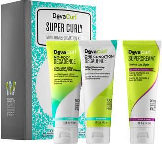 DevaCurl Super Curly Mini Transformation Kit