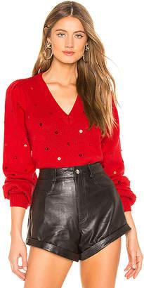 Majorelle Sequin Sweater